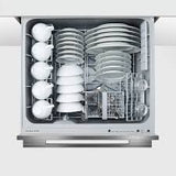 Fisher & Paykel Integrated Black Double Dishwasher DD60DDFHB9