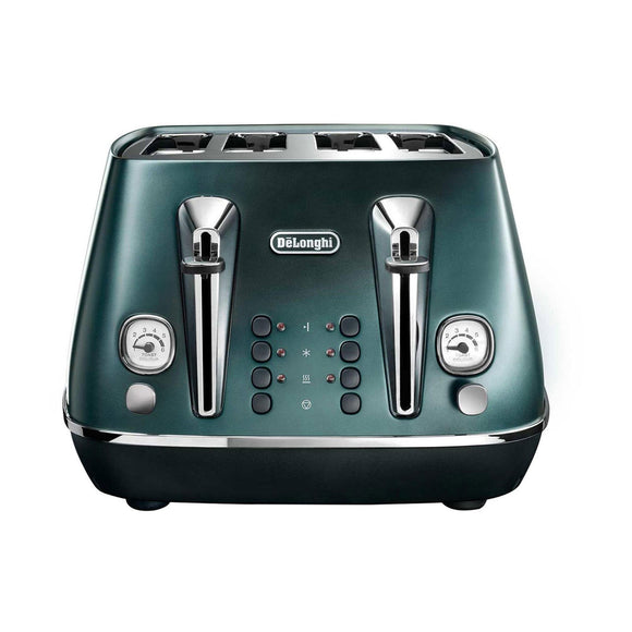 DELONGHI Distinta Flair 4 Slice Toaster - CTI4003GR