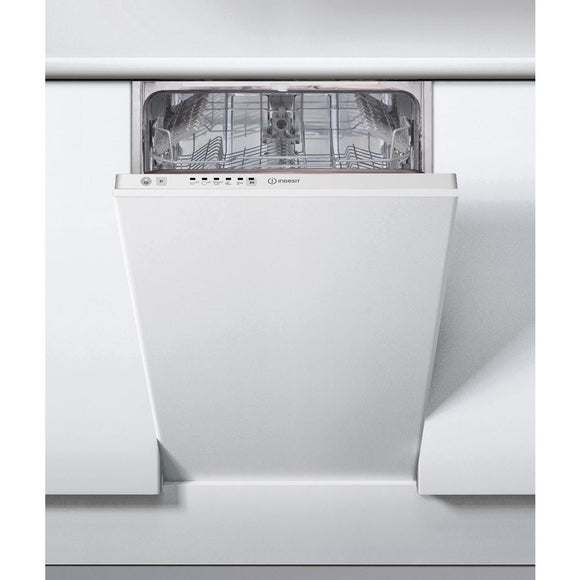 INDESIT Integrated Dishwasher,Silver-DSIE2B10UK