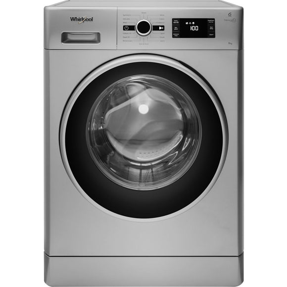 WHIRLPOOL 8kg, 1400 Spin, Fresh Care Plus Washing Machine FWG81496SUK