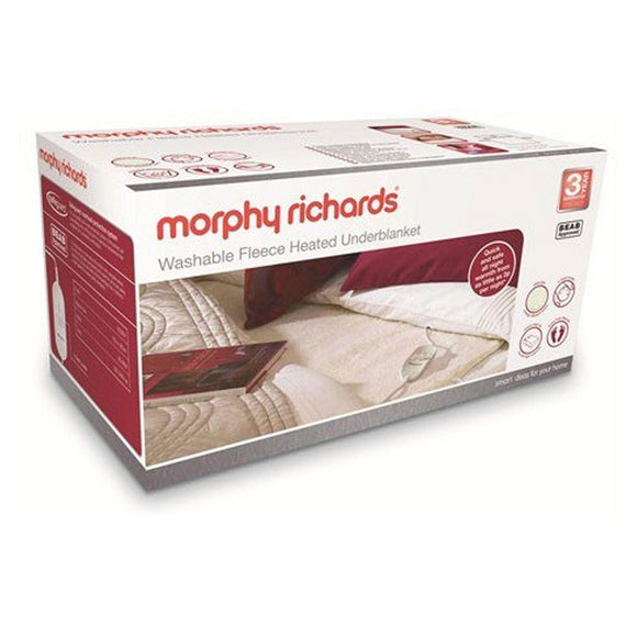 MORPHY RICHARDS  Fitted Fleece Blanket Super King Dual-620014