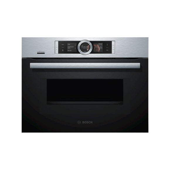 Bosch Oven with Microwave CMG656BS6B Ex-Display