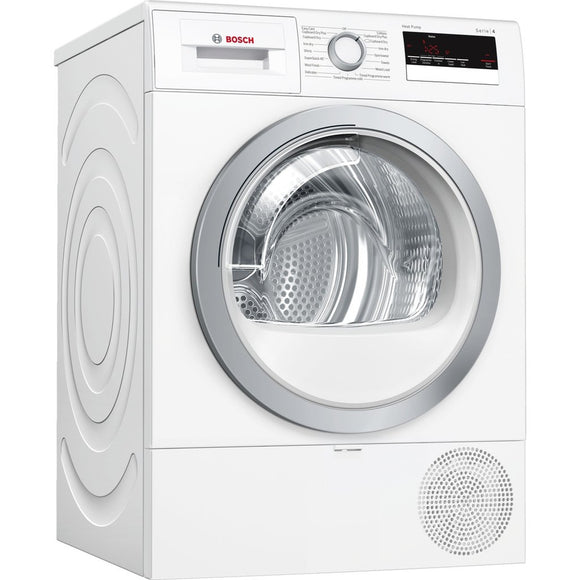 BOSCH Serie | 4 Condenser tumble dryer with heat pump - WTR85V21GB