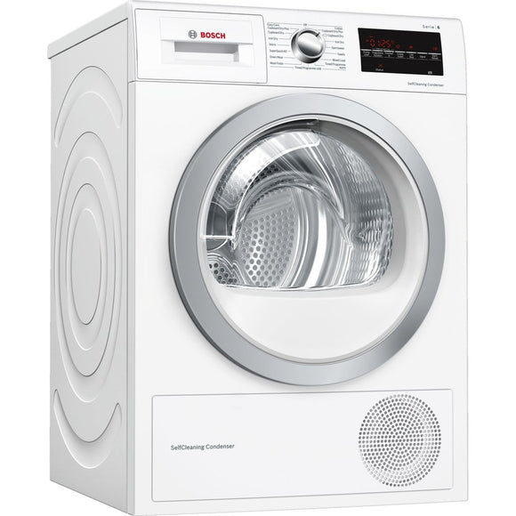 BOSCH Serie | 6 Condenser tumble dryer with heat pump - WTW85493GB