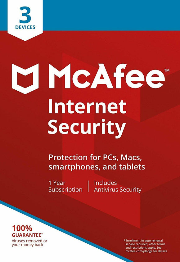 McAfee Internet Security Three Devices