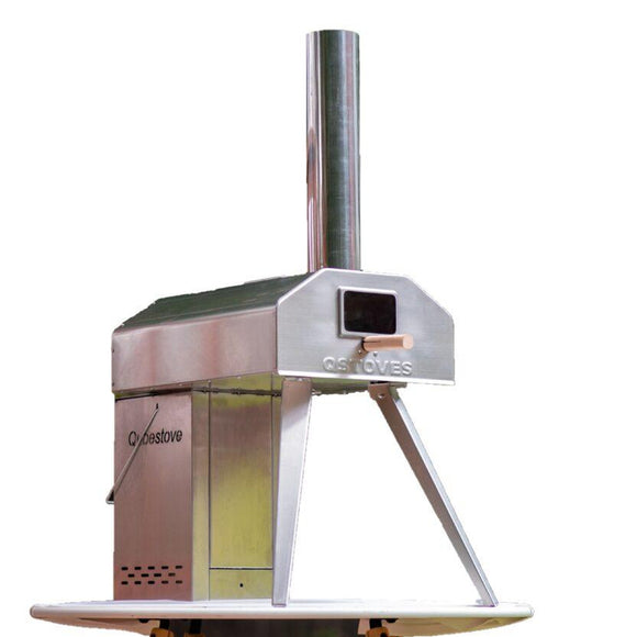 Qubestove Rotating Pizza Oven And Stove In One