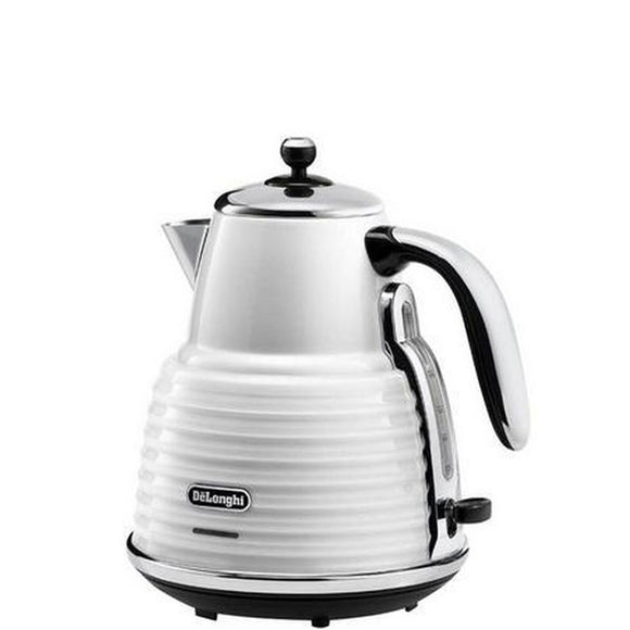 DELONGHI Scultura Electric Kettle White- KBZ3001W