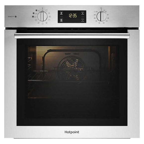 HOTPOINT Single Oven with Steam Cooking - FA4S544IXH