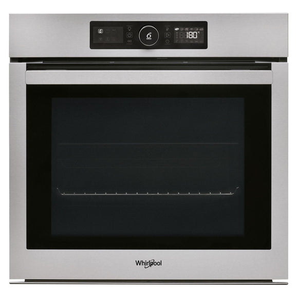 WHIRLPOOL Touch Control Multifunction Single Oven With Pyrolytic Cleaning - AKZ96270IX