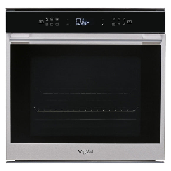 WHIRLPOOL Touch Control Multifunction Single Oven With Pyrolytic Cleaning - W7OM44S1P