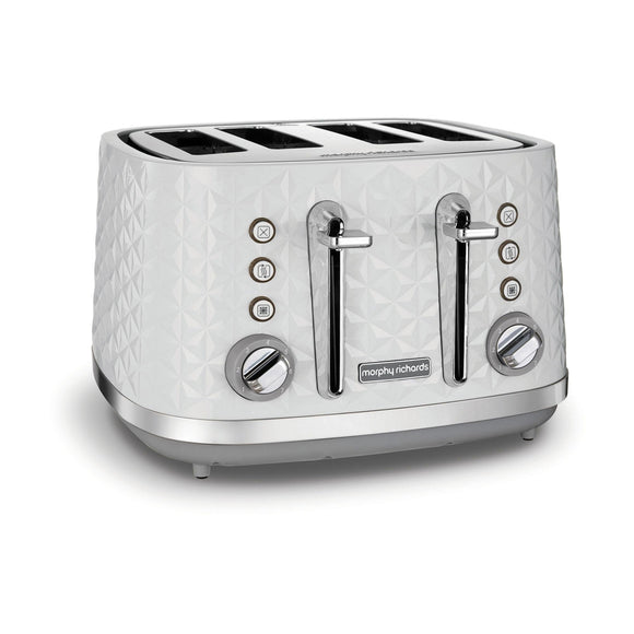 MORPHY RICHARDS Vector 4 Slice Toaster White - 248134