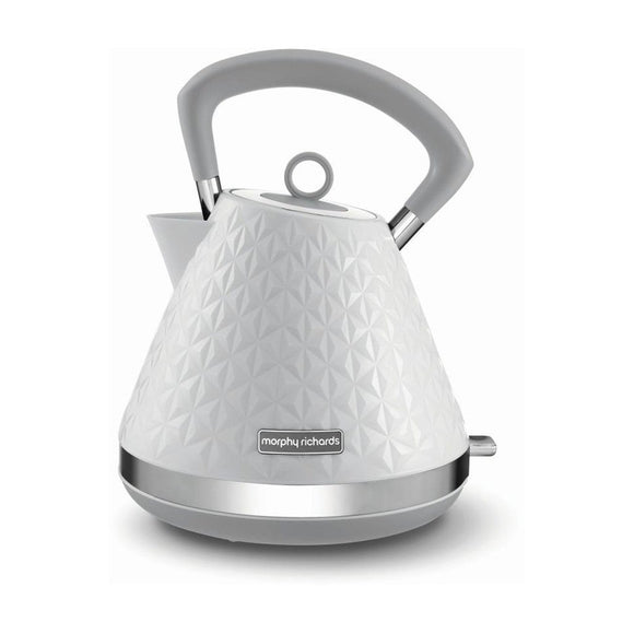 MORPHY RICHARDS Vector Trad Kettle White 1.5L - 108134
