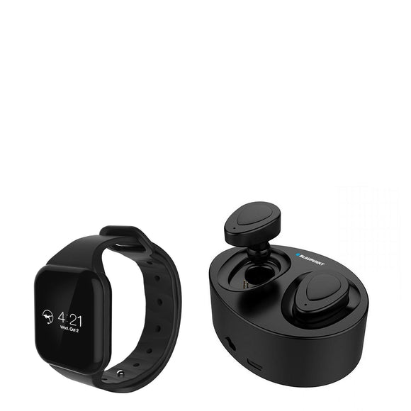 BLAUPUNKT Connected Watch & True Wireless In Ear Headphone - BLP1500-Briscoes
