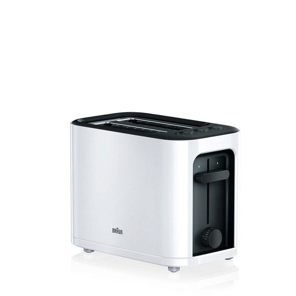 BRAUN PurEase Toaster - HT3000WH-Briscoes