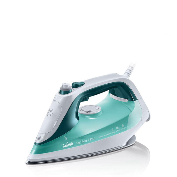 BRAUN TexStyle 7 Pro steam iron Green - SI7042GR-Briscoes