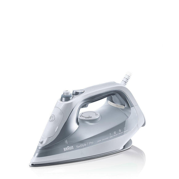 BRAUN TexStyle 7 Pro steam iron - SI7088GY-Briscoes