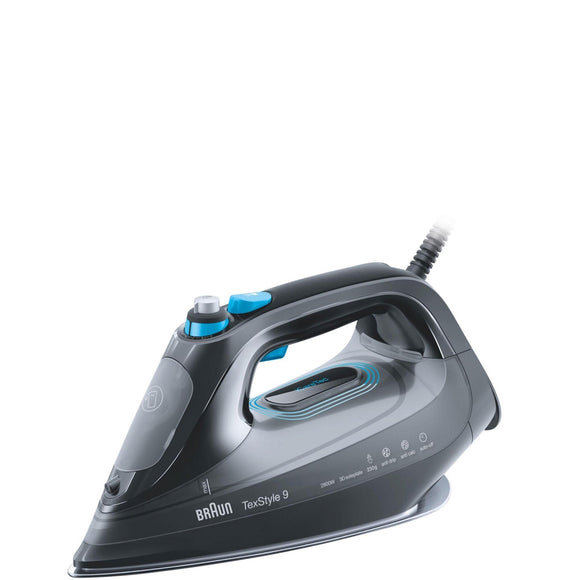 BRAUN TexStyle 9 Steam Iron - SI9188BK-Briscoes
