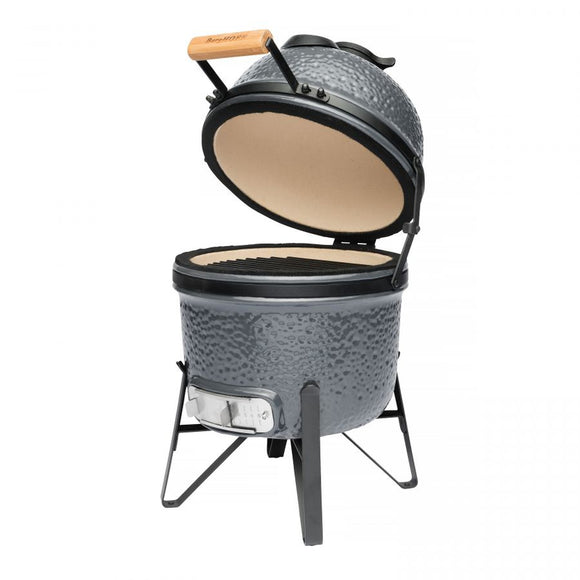 BERGHOFF Ceramic Charcoal BBQ and oven small Dark - 2415703