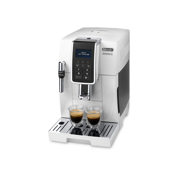 DELONGHI Dinamica Bean to Cup Coffee Machine - ECAM350.35W-Briscoes