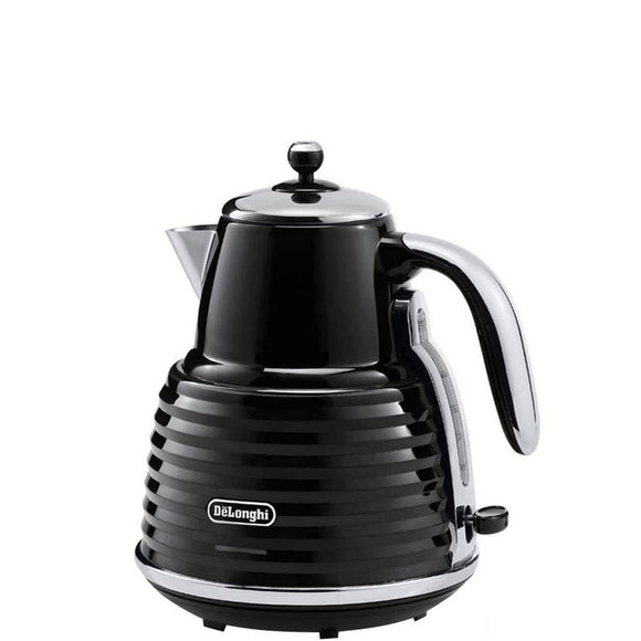 DELONGHI Scultura Electric Kettle - KBZ3001BK-Briscoes