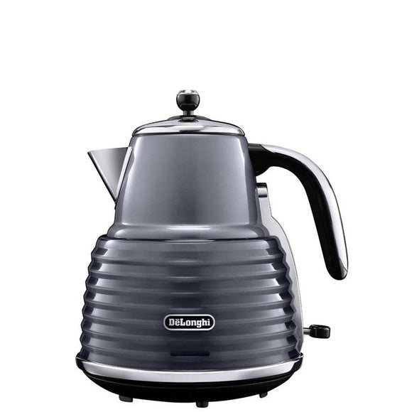DELONGHI Scultura Electric Kettle - KBZ3001GY-Briscoes