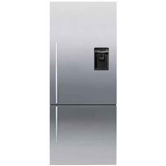 FISHER & PAYKEL 68cm ActiveSmart Fridge Freezer - E442BRXFDU4-Briscoes