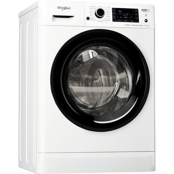 Whirlpool FWDD1071682WBV White 10+7KG 1600RPM Washer Dryer