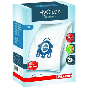 Miele HyClean 3D Filter Bags for Vacuum Cleaner -  GNH