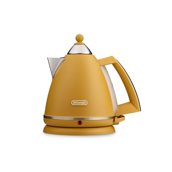 DELONGHI Argento Silva Yellow Kettle KBX3016.Y