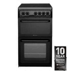 HOTPOINT 50Cm Freestanding Electric Cooker - HAE51KS-Briscoes