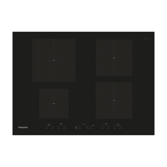 HOTPOINT 70cm induction hob Induction Hob 4 Cooking Zones - CID740B-Briscoes