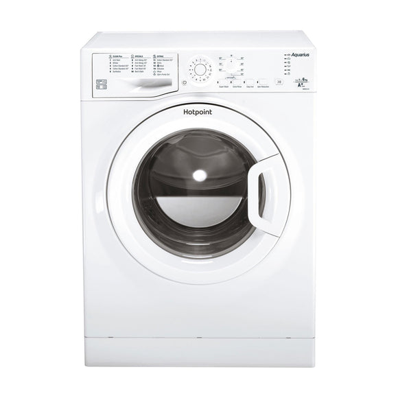 HOTPOINT Aquarius 6kg Washing Machine 1400 Spin - WMAQC641PUKM-Briscoes