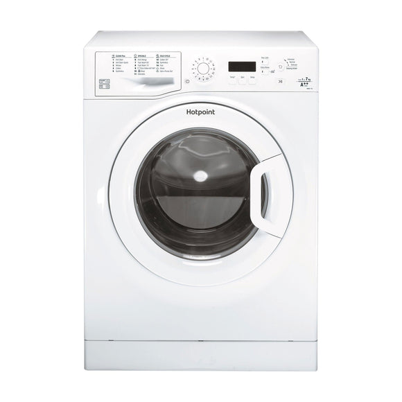 HOTPOINT Aquarius 7kg Washing Machine 1400 Spin - WMBF742PUKM-Briscoes