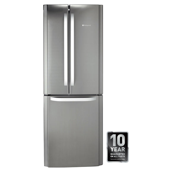 HOTPOINT FROST FREE Fridge Freezer Hygiene + Protection 70cm Combis - FFU3DX-Briscoes