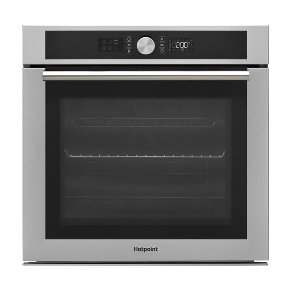 HOTPOINT Series 4 With Round Handle Multifunction Oven 71 Litres - SI4854PIX-Briscoes