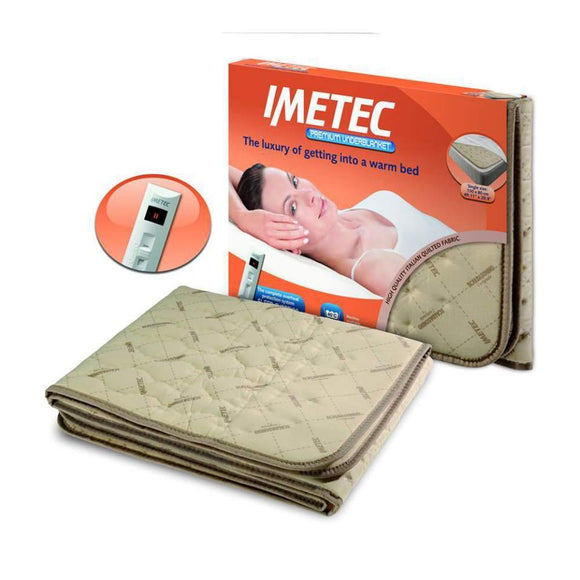 IMETEC Blanket Premium Quilted Single - 16026-Briscoes