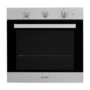 INDESIT Aria Collection 66 Litre Single Oven with Easy To Clean - IFW6330IXUK-Briscoes