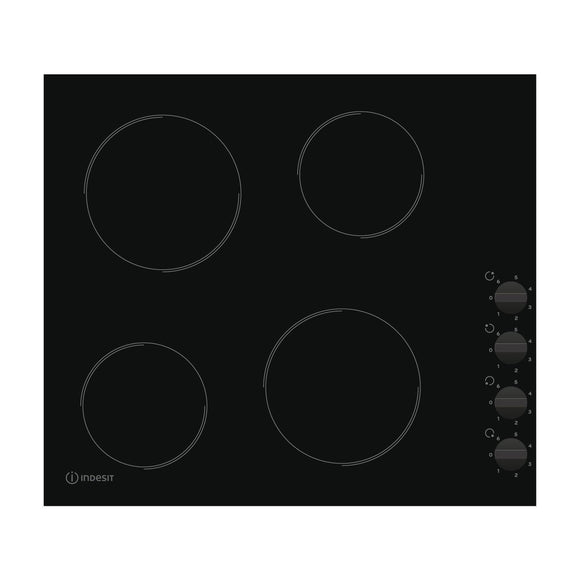 INDESIT Aria Collection Ceramic Hob - RI860C-Briscoes