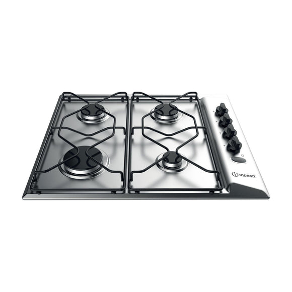 INDESIT Aria Collection Gas Hob - PAA642IXIWE-Briscoes