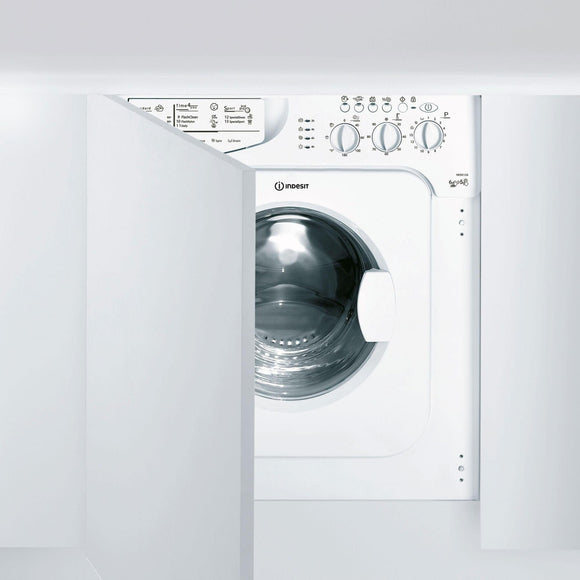 INDESIT Built-In Washer Dryer 6/5kg - IWDE126UK-Briscoes