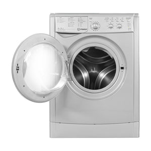 INDESIT ECOTIME Washer Dryer 6kg Wash 5kg Dry 1200 Spin - IWDC6125SUK-Briscoes