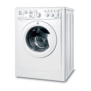 INDESIT ECOTIME Washer Dryer 6kg Wash 5kg Dry 1200 Spin - IWDC6125UK-Briscoes