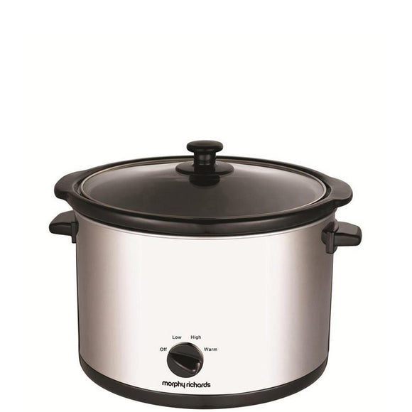 MORPHY RICHARDS 5.5 Litre Slow Cooker - 461006-Briscoes