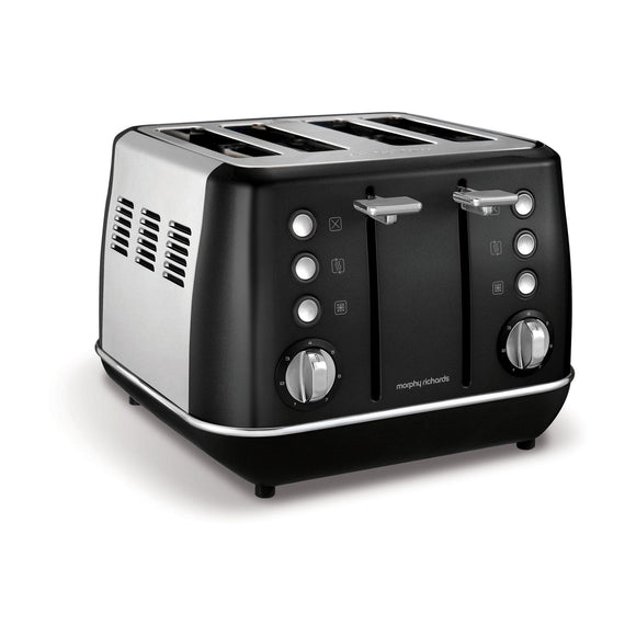 MORPHY RICHARDS Evoke 4 Slice Toaster - 240105-Briscoes