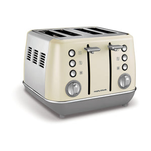 MORPHY RICHARDS Evoke 4 Slice Toaster - 240107-Briscoes