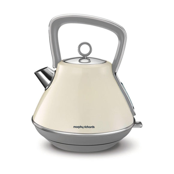 MORPHY RICHARDS Evoke Pyramid Kettle - 100107-Briscoes