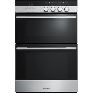 FISHER & PAYKEL 60cm 7 Function Built-In Double Oven - OB60BCEX4