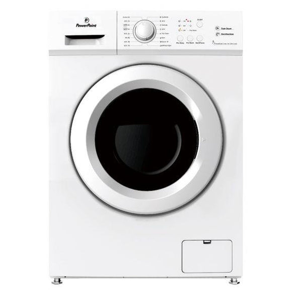 Powerpoint 8kg 1200 RPM A+++ Washing Machine P35128SKW
