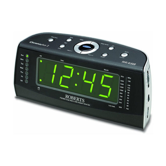 ROBERTS Chronoplus2 Clock Radio - CHRONOPLUS2-Briscoes