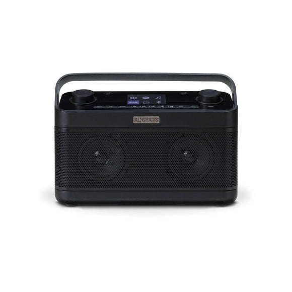 ROBERTS Stream 218 Dab+/FM/Internet Smart Radio - STREAM218BLK-Briscoes